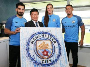 Manchester City: secondo sponsor sulla manica, novità assoluta in Premier