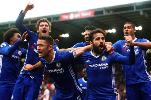 Il Chelsea batte anche lo Stoke, Conte vola a +13. Vince pure il Leicester