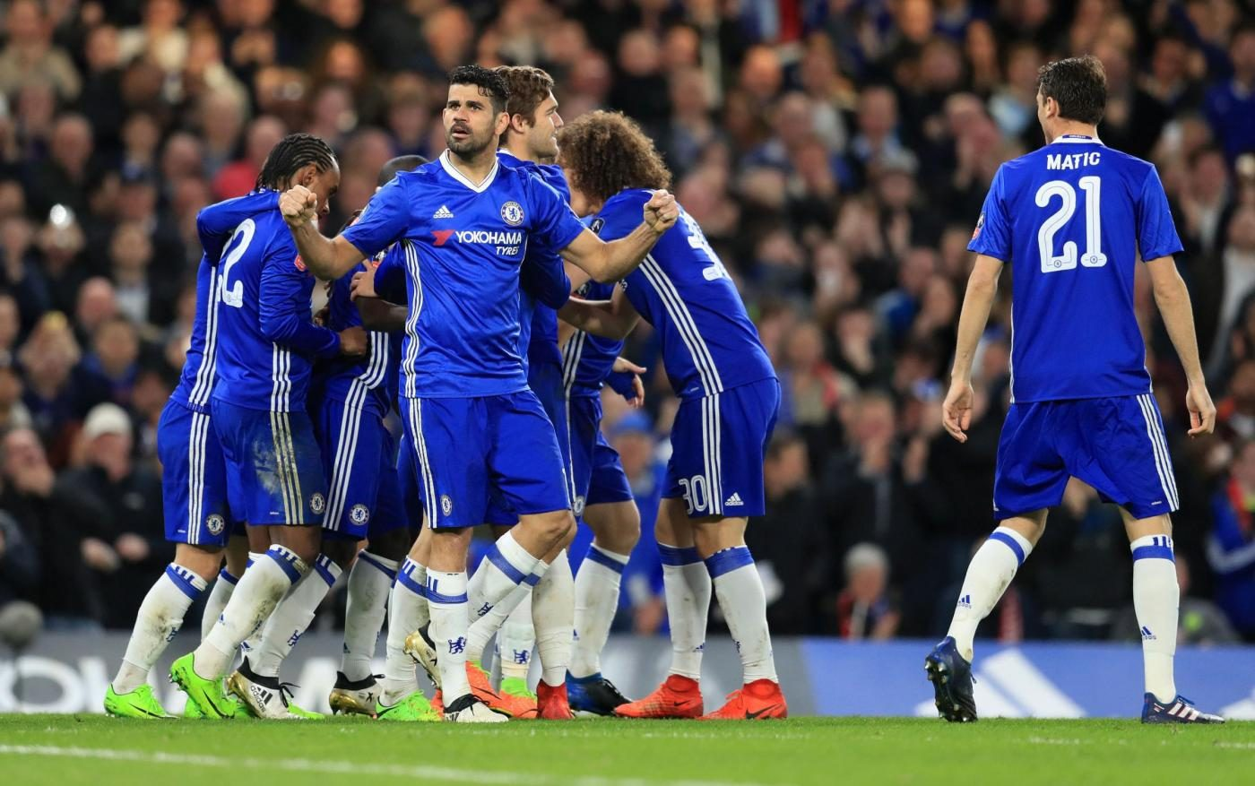 Chelsea Was That A Man: Conte Urla In Faccia A Mourinho, Chelsea In Semifinale Di