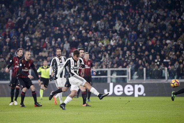 Juventus-Milan diretta 28a giornata Serie A 2016-2017