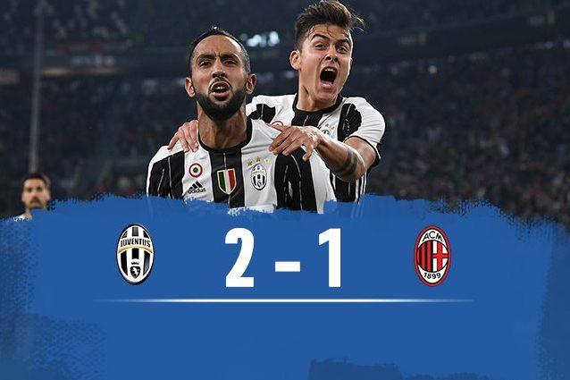 La Juve vince su rigore di Dybala al 97′: si scatena la rabbia Milan