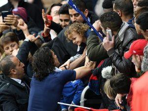 Napoli, Juventus in arrivo: al San Paolo anche il tifo dei figli di Cavani