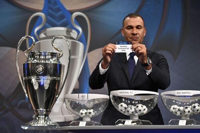 Juventus al sorteggio dei quarti di finale di Champions