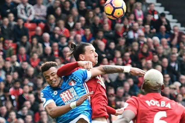 Premier League, Manchester United-Bournemouth 1-1: Ibrahimovic sbaglia, King no