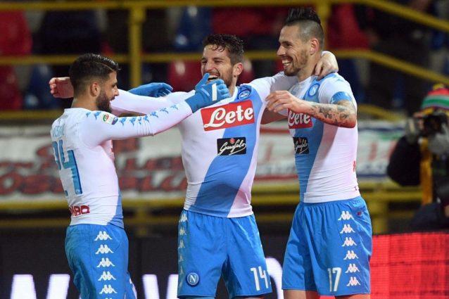 Napoli che record: è l'unica squadra d'Europa con 3 bomber in doppia cifra