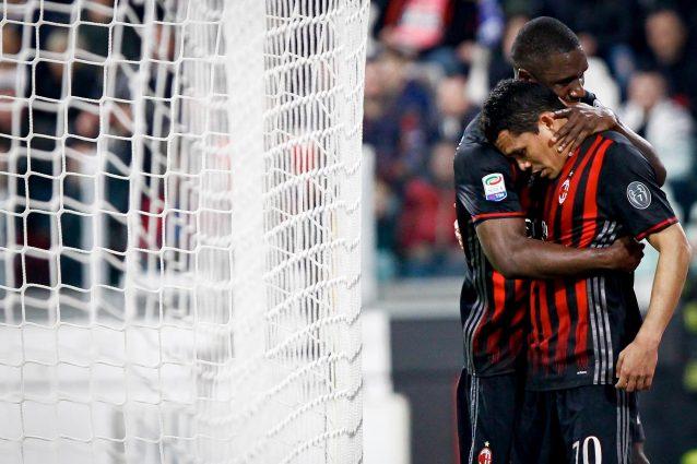 Bacca squalificato per una giornata dopo i fatti di Juventus–Milan