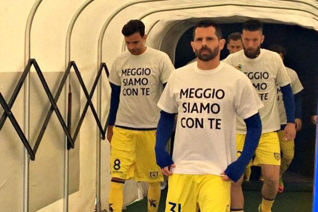 Morta la madre di Meggiorini, il messaggio di squadra e club