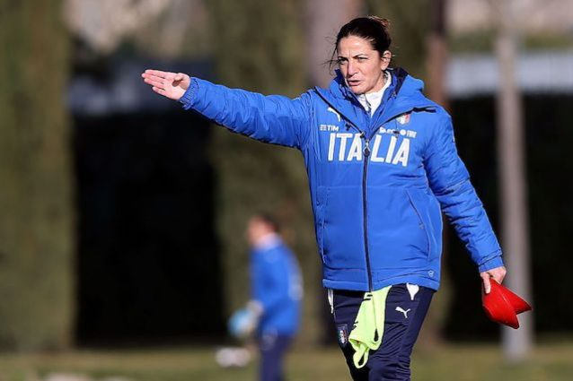 Italia, Patrizia Panico nella storia: prima donna a guidare una nazionale azzurra maschile