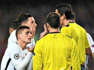 Psg, dossier alla Uefa sugli episodi dubbi del 6-1 di Barcellona