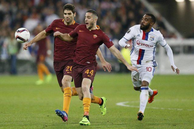 Roma-Lione: Spalletti cambia modulo, ritrova Perotti e punta su Dzeko