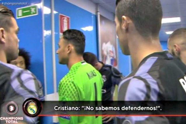 """Ronaldo, il retroscena nello spogliatoio: """"Non possiamo difenderci così"""""""