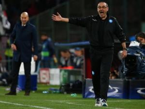 """Napoli, Sarri: """"Voglio il secondo posto, i tifosi azzurri lo meritano"""""""