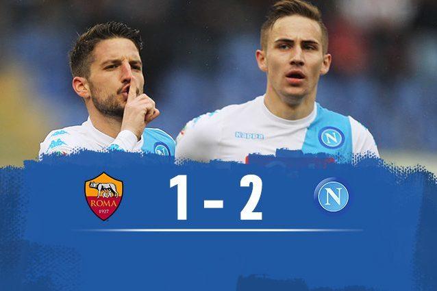 Napoli batte Roma 2-1