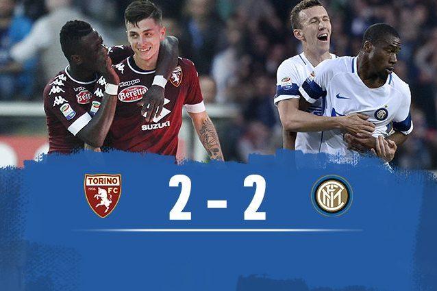 Baselli e Acquah fanno tremare l'Inter, Hart rimette in partita i nerazzurri