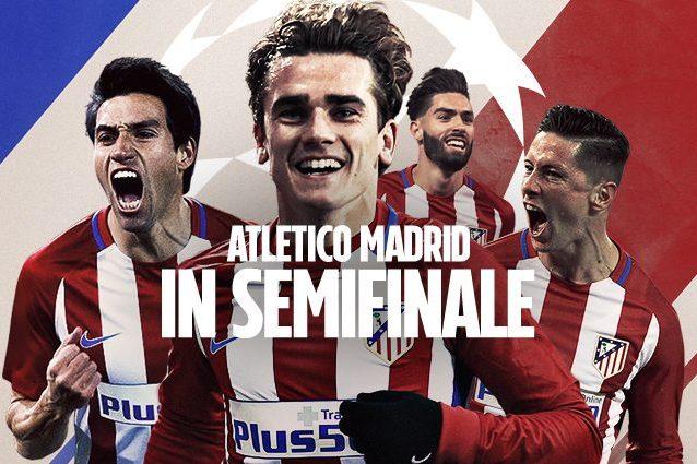 Champions, Atletico in semifinale: in casa del Leicester basta l'1-1
