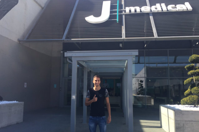 Bentancur, visite mediche in corso al J Medical FOTO