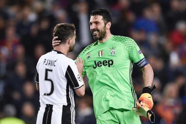 """Buffon sul sorteggio: """"In semifinale meglio una tra Monaco e Real dell'Atletico"""""""