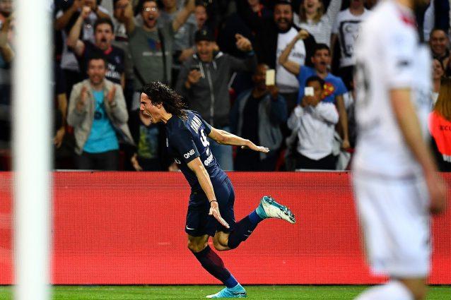 """Il Guingamp sfotte Cavani: """"Perché segni così con noi e non contro il Barça"""""""