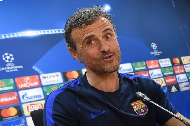 """Luis Enrique: """"Alla Juve facciamo 5 gol, 3 in soli 3 minuti"""""""
