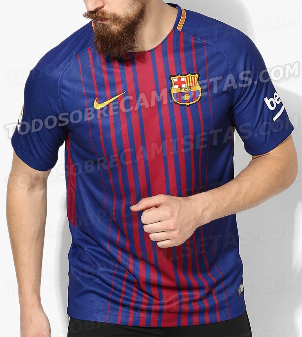 divisa calcio FC Barcelona 2018