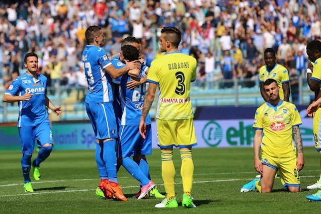 Fischio finale: Empoli-Pescara 1-1