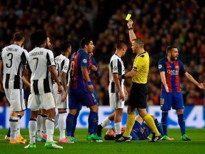 """Barcellona, Suarez si sfoga contro l'arbitro di porta: """"Fifone succhia m....a"""""""