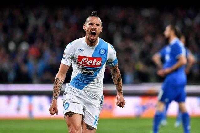 Napoli-Juventus semifinale di ritorno Coppa Italia 2016-2017