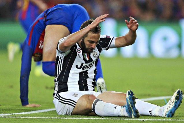 Champions, Higuain ha il mal di gol: in Europa il Pipita ha le polveri bagnate