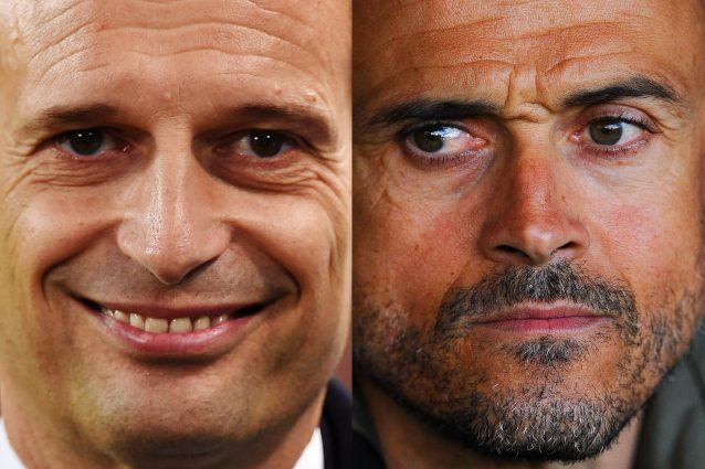 Contro il Barcellona una Juve all'attacco