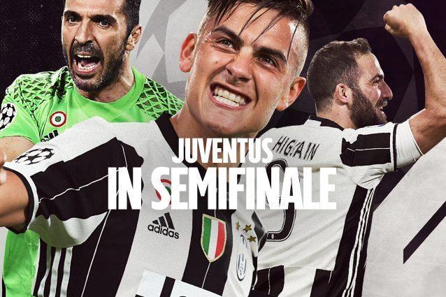 Juventus in semifinale di Champions