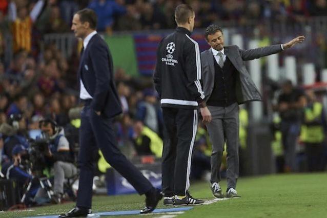 """Luis Enrique: """"Complimenti alla Juve, può vincere la Champions"""""""