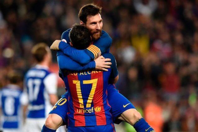 Doppietta di Messi, 2 squilli Champions alla Juve
