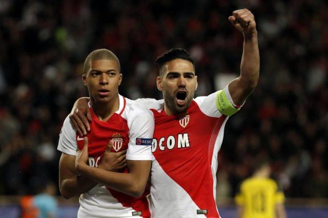Mbappé, Falcao e Germain: il Monaco batte il Borussia e va in semifinale di Champions