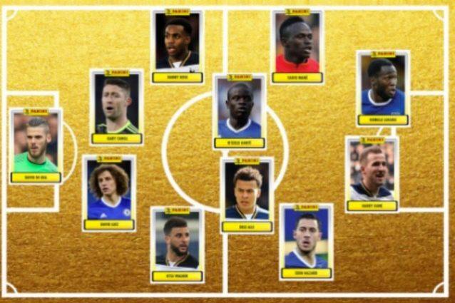 Premier 2017, la squadra dell'anno dominata da Tottenham e Chelsea