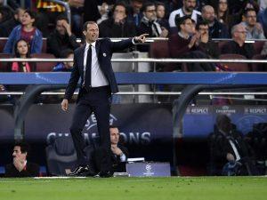 "Allegri: ""Nessuno ci fa gol, questa è una grande Juventus"""
