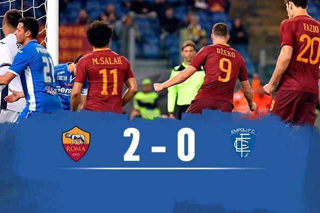 Roma-Empoli 2-0