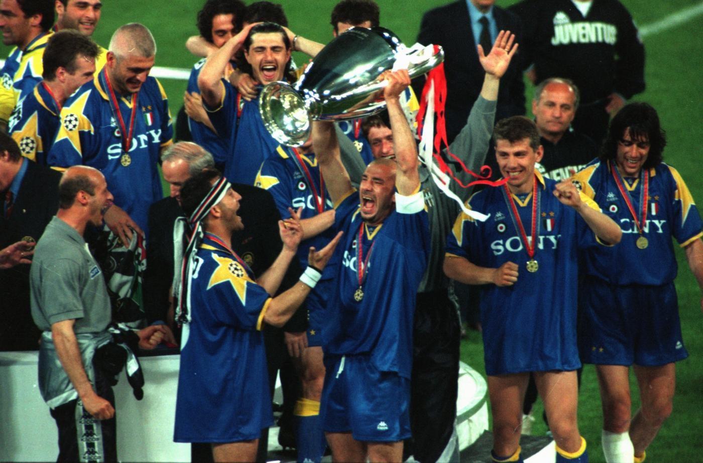 Il 22 maggio 1996 all'Olimpico la Juventus vince per la seconda volta la Champions League.