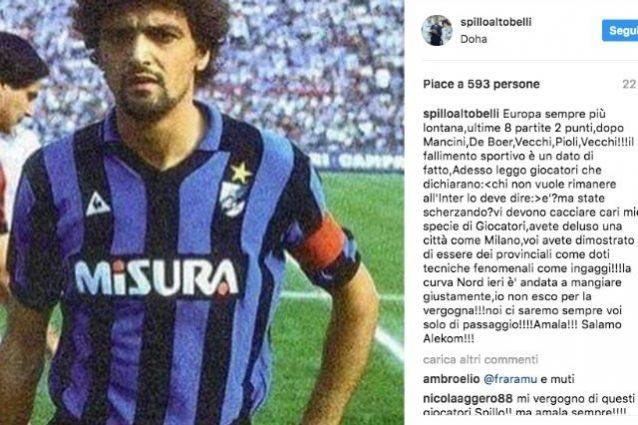 """Inter, sfogo di Altobelli: """"Calciatori provinciali ma con grandi ingaggi, cacciateli"""""""