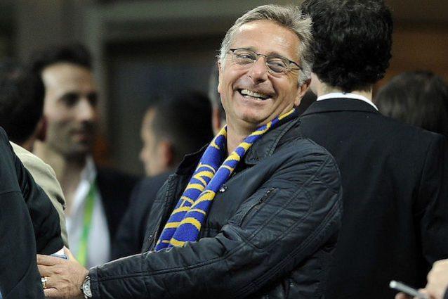 """Finale Coppa Italia, Bonolis tifa Lazio: """"Difendete il triplete dell'Inter"""""""