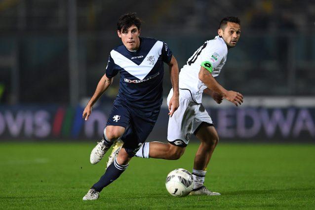 In foto: Dimitri Bisoli centrocampista del Brescia