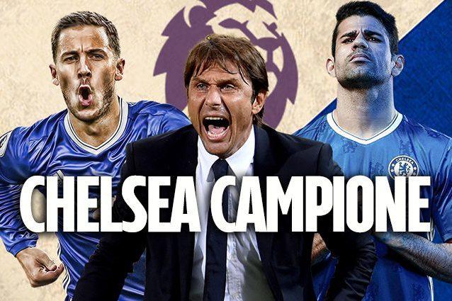 Antonio Conte re d'Inghilterra, il Chelsea vince l'anticipo e conquista la premier