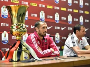 """Chiellini: """"Biscotto con la Roma? No, dispiaciuti per lo scudetto"""""""