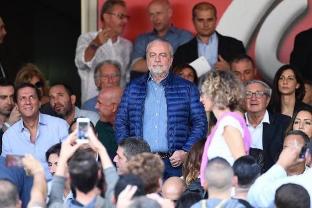 """De Laurentiis risponde a Sarri: """"Vuole arricchirsi? Magari dopo due scudetti e una Champions"""""""