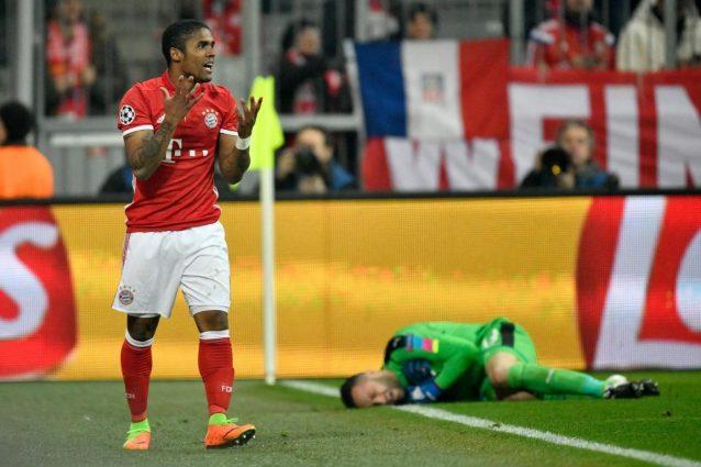 Douglas Costa del Bayern Monaco obiettivo di mercato della Juventus