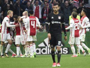 Europa League, Lione-Ajax in chiaro su Tv8