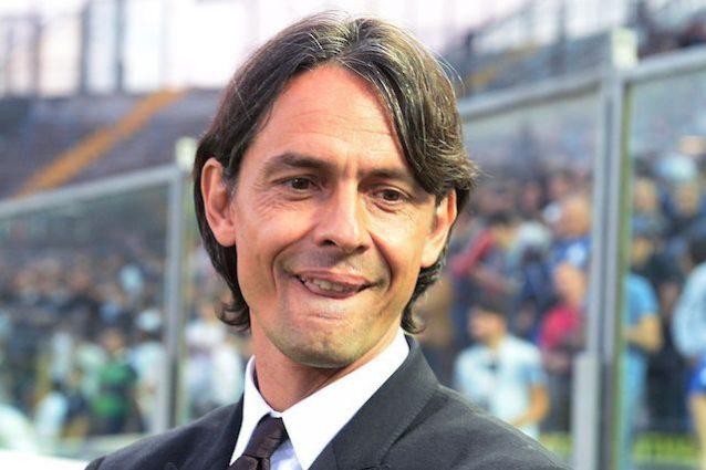 Pippo Inzaghi all'Olimpico per tifare Lazio