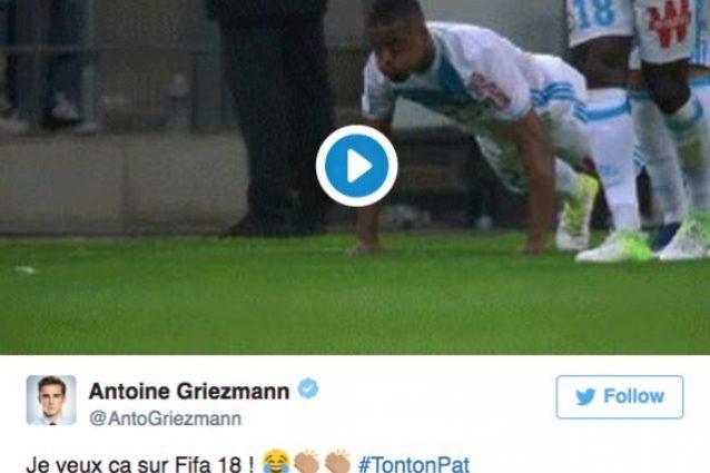 """Evra segna e fa le flessioni, Griezmann: """"Lo voglio a Fifa 18"""""""
