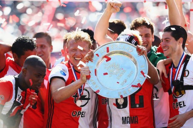 Feyenoord campione d'Olanda nel segno del sempreverde Kuyt