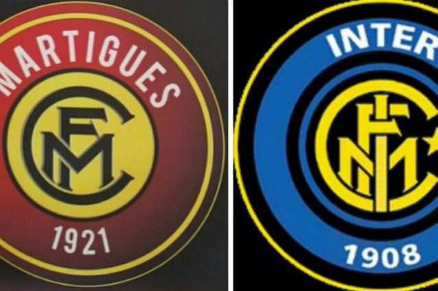 Che copioni questi francesi: Martigues, stemma 'ispirato' a quello dell'Inter