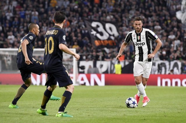 Juve, si ferma Marchisio: salta la partita con la Roma